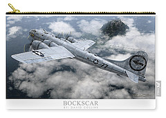 Bockscar  Carry-all Pouch by David Collins