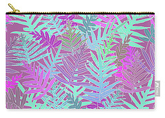 Bodacious Ferns Mint Carry-all Pouch