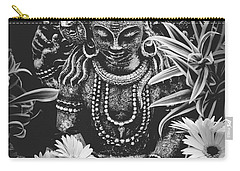 Carry-all Pouch featuring the photograph Bodhisattva Parametric by Sharon Mau