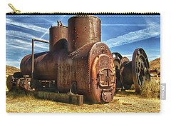 Old Boiler Bodie State Park Carry-all Pouch