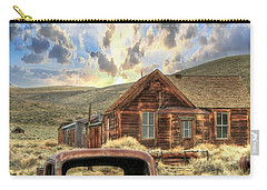 Bodie Ghost Town Carry-all Pouch by Benanne Stiens