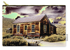 Carry-all Pouch featuring the photograph Bodie House by Jim and Emily Bush