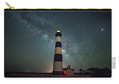 Bodie Lighthouse And Milky Way Carry-all Pouch