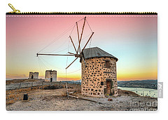 Bodrum And Old Windmills - Turkey Carry-all Pouch