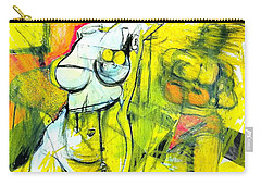 Body Language Carry-all Pouch by Helen Syron