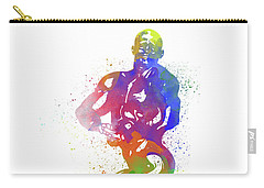 Bodybuilder Watercolor 2 Carry-all Pouch