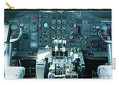 Boeing 747 Cockpit 23 Carry-all Pouch by Micah May