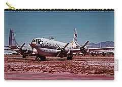 Boeing Hc-97g Statofreighter 52-2714 At Masdc April 24 1972 Carry-all Pouch