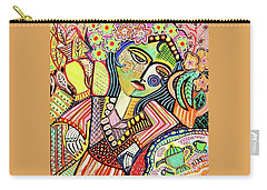 Bohemian Tea Garden Woman' Carry-all Pouch