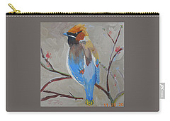Bohemian Wax Wing Carry-all Pouch