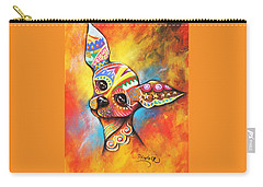 Chihuahua Carry-all Pouch by Patricia Lintner