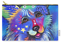Corgi Carry-all Pouch by Patricia Lintner