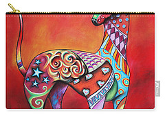 Italian Greyhound  Carry-all Pouch by Patricia Lintner