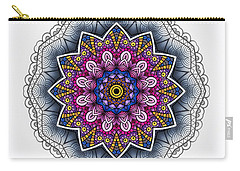 Carry-all Pouch featuring the digital art Boho Star by Mo T