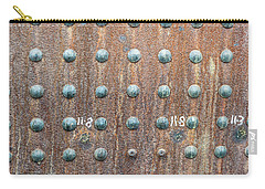 Boiler Rivets Carry-all Pouch