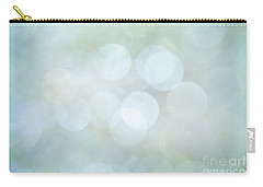 Carry-all Pouch featuring the photograph Bokeh Clouds by Jan Bickerton