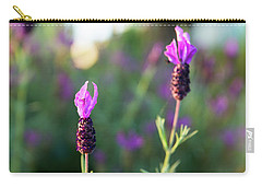 Carry-all Pouch featuring the photograph Bokehlicious Bloom by Lora Lee Chapman