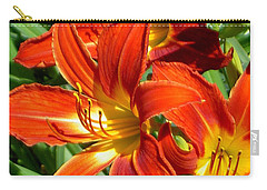 Bold And Beautiful Lilies Carry-all Pouch