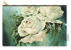 Bold Blooms Carry-all Pouch