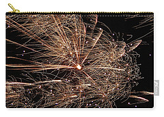 Carry-all Pouch featuring the photograph Bold Burst #0711 by Barbara Tristan