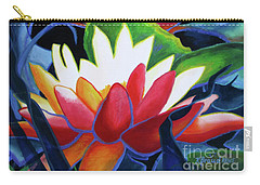 Bold Lilypads Carry-all Pouch