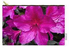 Bold Pink Flower Carry-all Pouch