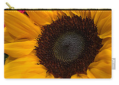 Bold Sunflower Carry-all Pouch