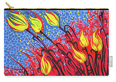 Bold Tulips Carry-all Pouch