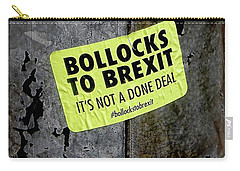 Bollocks To Brexit Carry-all Pouch