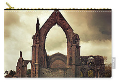 Bolton Abbey At Sunset Carry-all Pouch by Jaroslaw Blaminsky