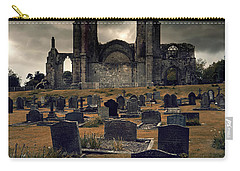 Bolton Abbey In The Stormy Weather Carry-all Pouch by Jaroslaw Blaminsky