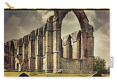 Bolton Abbey In The Uk Carry-all Pouch by Jaroslaw Blaminsky