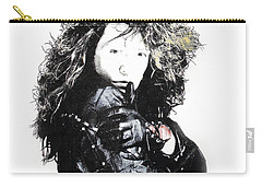Carry-all Pouch featuring the digital art Bon Jovi by Gina Dsgn