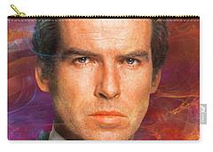 Bond - James Bond 5 Carry-all Pouch by John Robert Beck