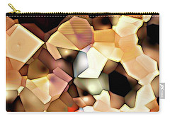 Bonded Shapes Carry-all Pouch by Ron Bissett
