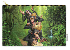 Bongo In The Jungle Carry-all Pouch