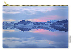 Carry-all Pouch featuring the photograph Bonneville Lake by Chad Dutson