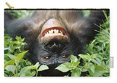 Bonobo Pan Paniscus Smiling Carry-all Pouch