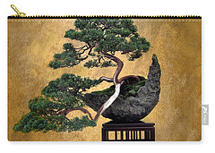 Bonsai 3 Carry-all Pouch by Jessica Jenney