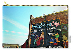 Boogie And Blues Carry-all Pouch by JAMART Photography
