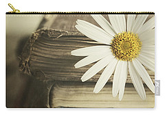 Carry-all Pouch featuring the photograph Bookmarked by Amy Weiss