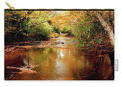 Carry-all Pouch featuring the photograph Boone Fork Stream by Meta Gatschenberger