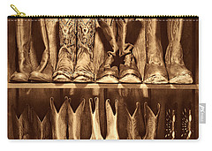 Boot Rack Carry-all Pouch by American West Legend By Olivier Le Queinec