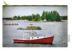 Boothbay Harbor View Carry-all Pouch