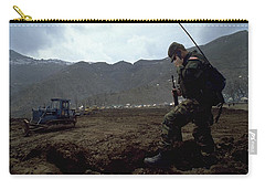 Boots On The Ground Carry-all Pouch
