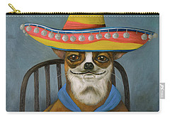 Carry-all Pouch featuring the painting Boozer 2 by Leah Saulnier The Painting Maniac