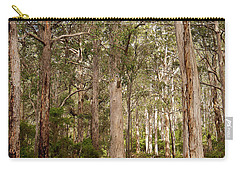 Carry-all Pouch featuring the photograph Boranup Drive Karri Trees by Ivy Ho