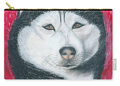 Boris The Siberian Husky Carry-all Pouch