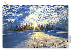 Carry-all Pouch featuring the photograph Born As We Are by Phil Koch