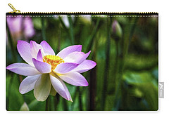 Carry-all Pouch featuring the photograph Born Of The Water by Edward Kreis